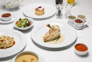 menu de frango 3 foto