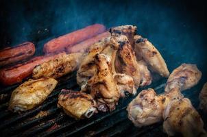 asas de frango para churrasco