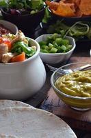 pratos típicos do méxico foto