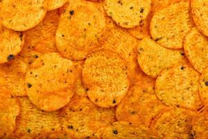 fundo de chips de nachos