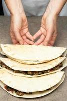 quesadillas mexicanos foto