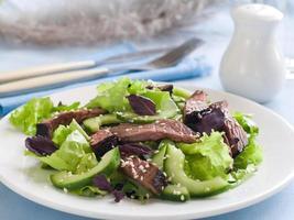 salada de avestruz foto