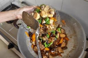 tofu de sapo acabado foto
