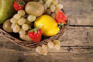 mistura de frutas foto