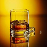 bebida de uísque foto