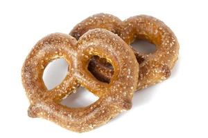 pretzels de açúcar foto