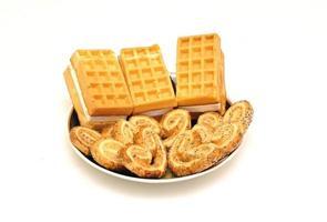 deliciosos biscoitos para uma pequena pausa foto