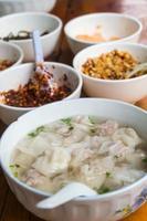 sopa de bolinhos foto
