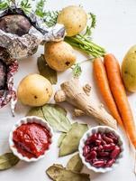 legumes para sopa foto