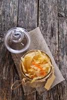 salada de chucrute foto