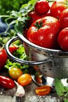 tomates frescos foto