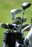 criar novos tacos de golfe foto