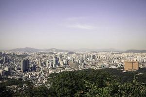 paisagem urbana de seul foto