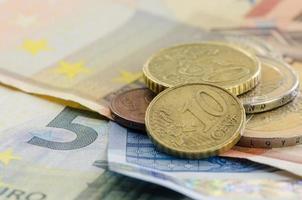 moedas e notas