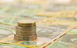 moeda australiana foto