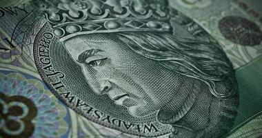papel-moeda polonês ou notas