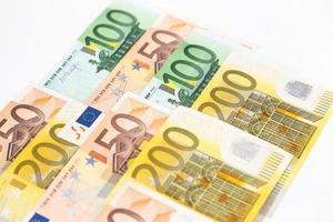 notas de euro foto