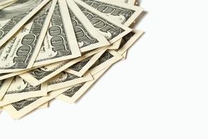 pilha de dólar foto