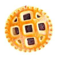 biscoitos com geléia de cereja foto