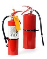 extintores de incêndio foto