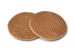 waffles de xarope cozido fresco foto