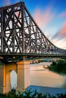 ponte da história em brisbane foto