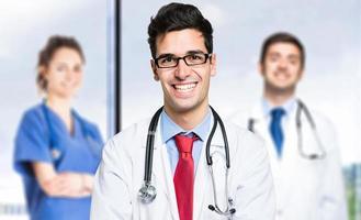 equipe médica jovem foto