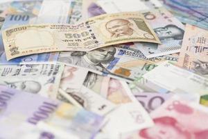 moedas internacionais