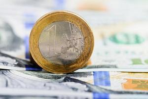 moeda de um euro foto