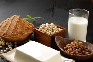 alimentos processados de soja foto