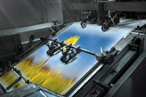 processo de impressão offset foto
