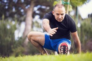homem exercício foto