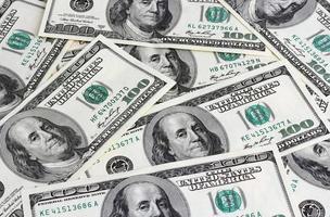 Dólares americanos foto