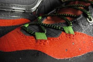 tecnologia para calçados de montanha foto