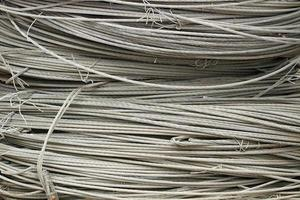 fundo tecnológico de corda de aço