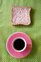 xícara de café no café estilo de Tom de cor vintage