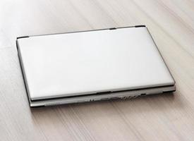 laptop fechado foto
