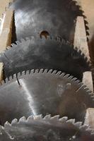 lâmina de serra circular foto