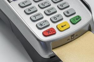 cartão de crédito foto