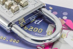 segurança do cartão de crédito foto