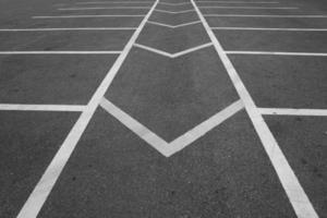 estrada de linha de ruptura abstrata foto