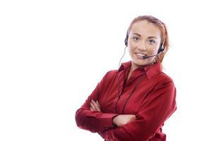 mulher de negócios jovem foto