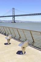 ponte da baía, são francisco, califórnia, eua foto