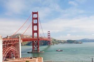 eua - califórnia - são francisco, golden gate foto