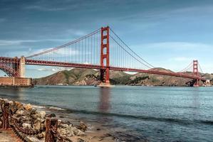 a ponte golden gate foto