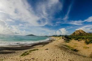 praias desérticas.