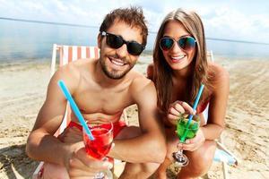 festa na praia foto