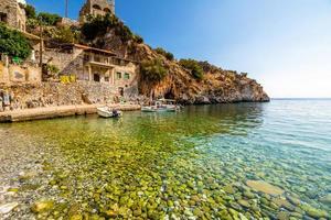 praias do peloponeso foto