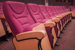 auditório. foto