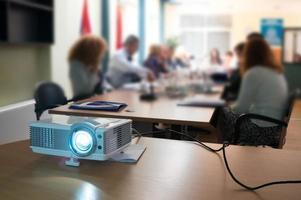 projetor no seminário foto